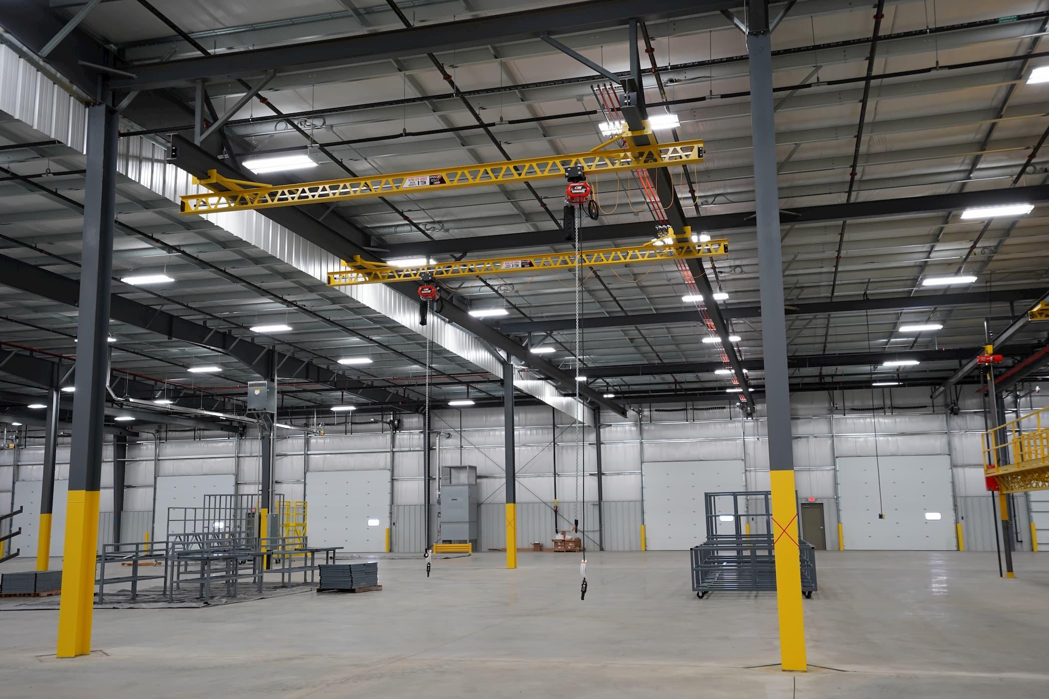 1 Ton Freestanding Overhead Crane
