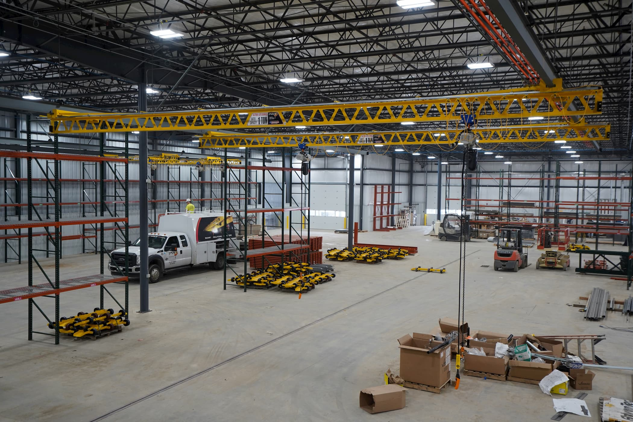 1 Ton Overhead Manual Crane