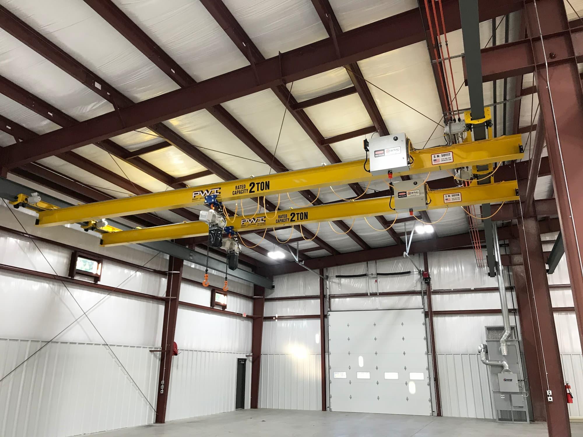 2 Ton Overhead Bridge Cranes