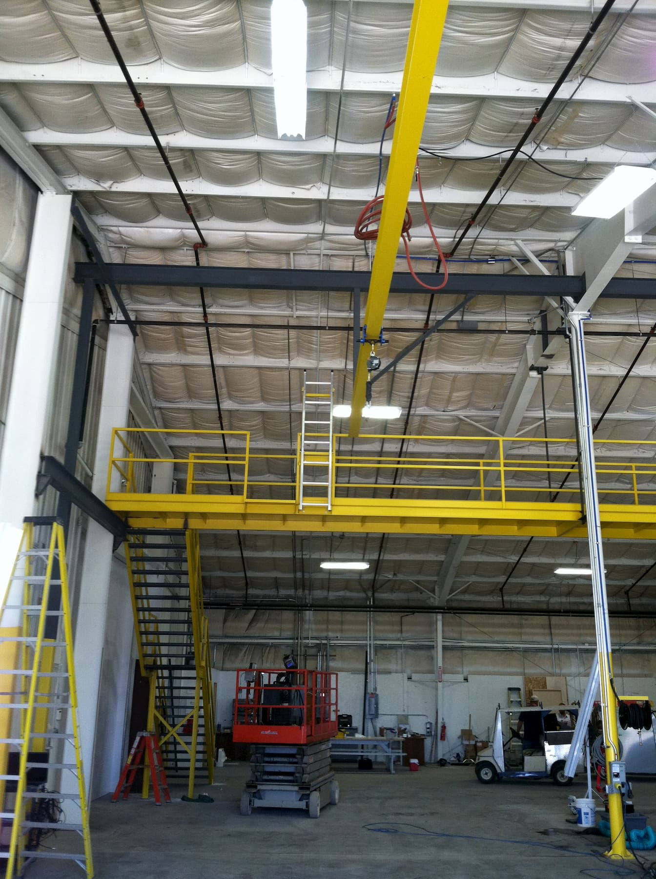 Beam Style Fall Protection System