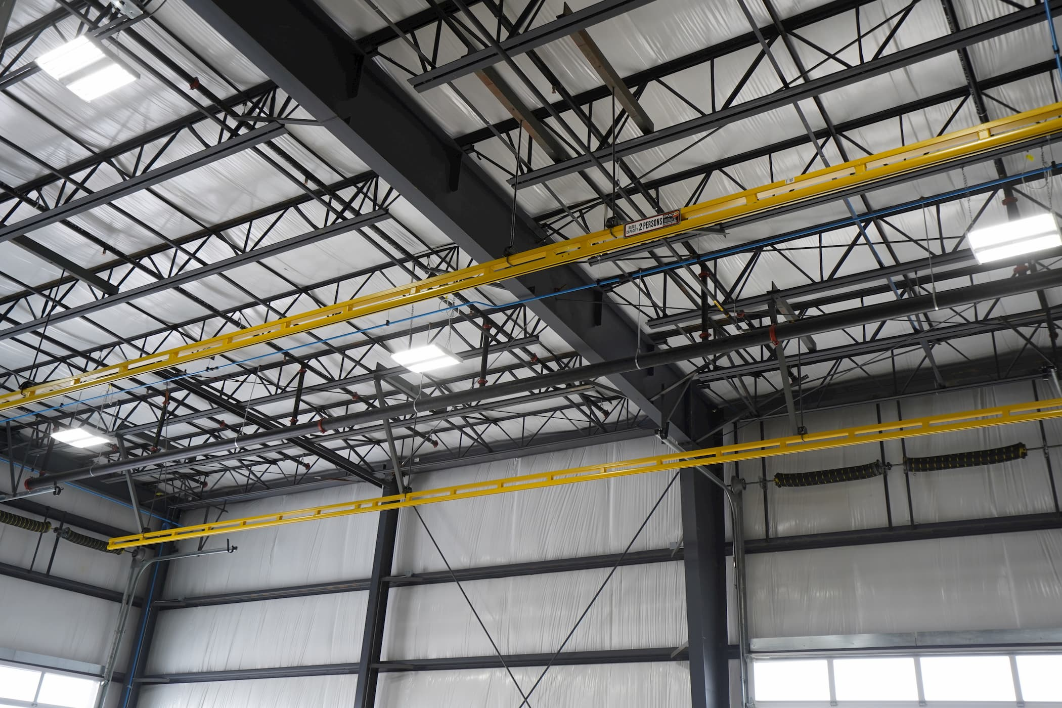 Ceiling Mounted Fall Protection System