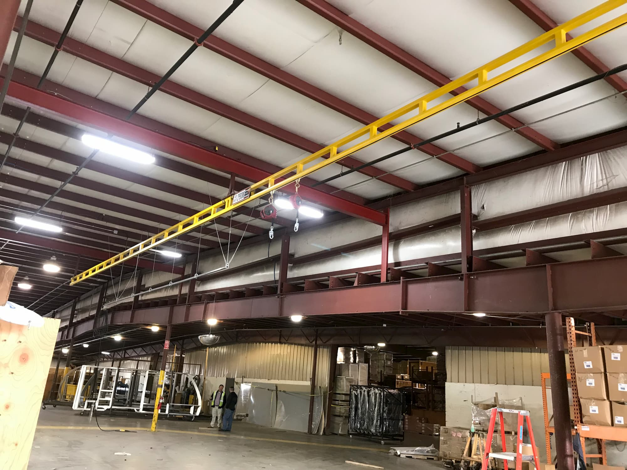 Fall Protection System for Assembly Line