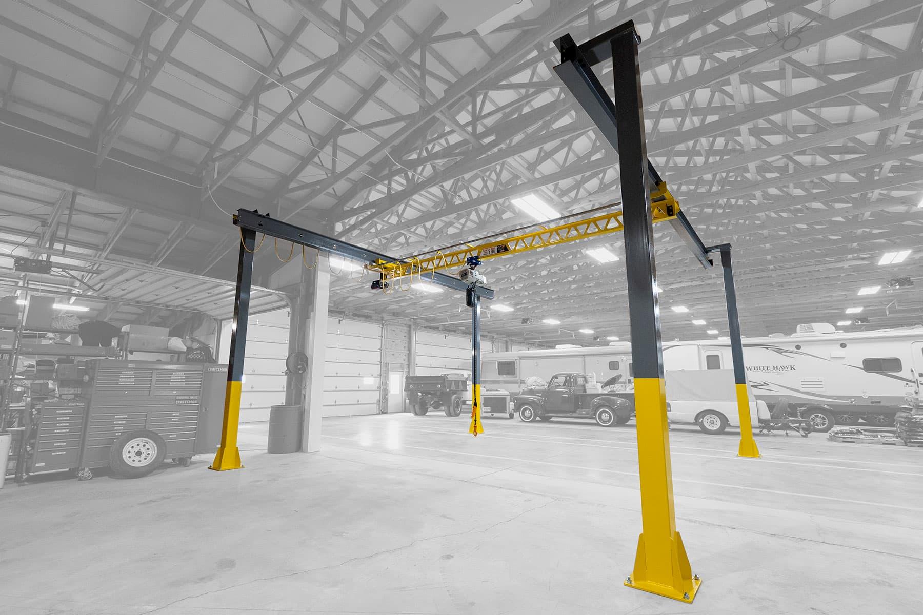Freestanding Bridge Crane