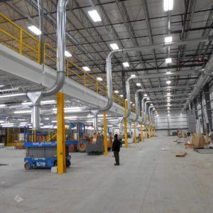 Large Steel Mezzanine