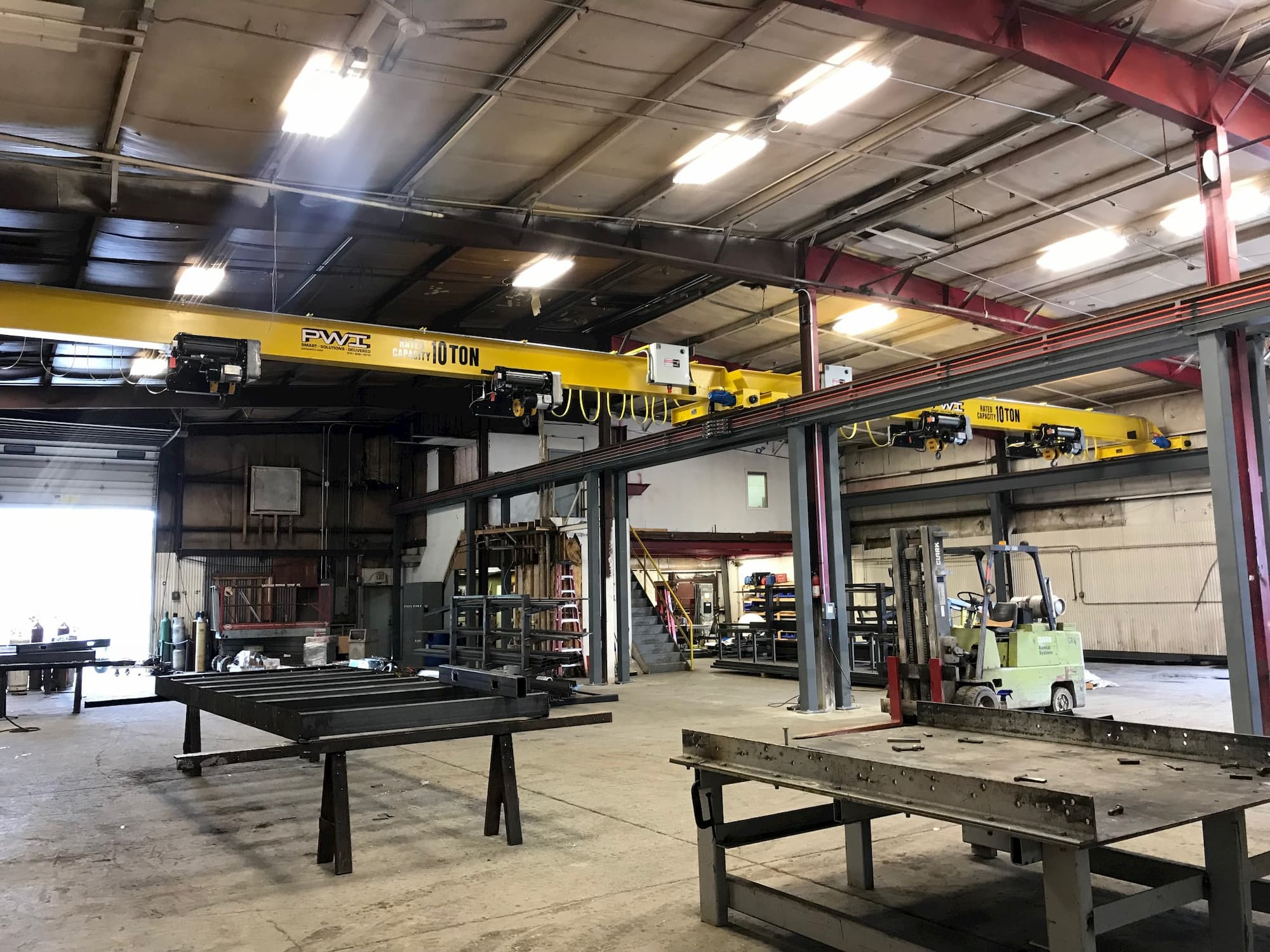 Overhead Bridge Crane with Dual Hoist