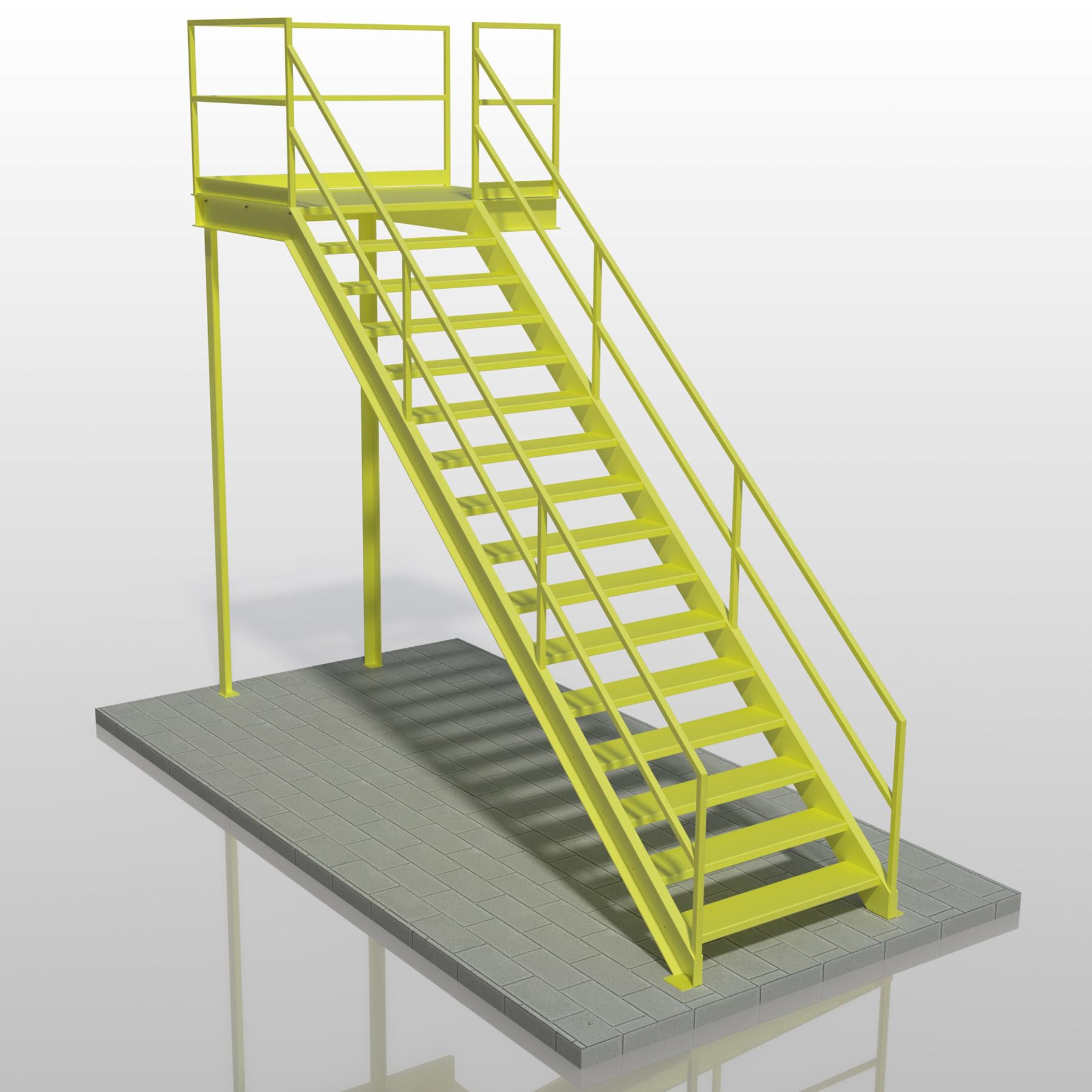 2 Handrail Stair
