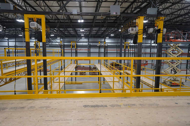PWI Powered Work Platform Guardrail