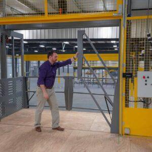 PWI VRC Material Lift Door